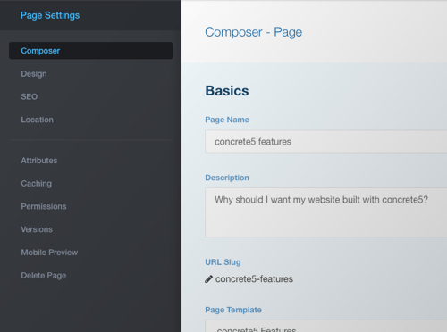 Create complex pages simply