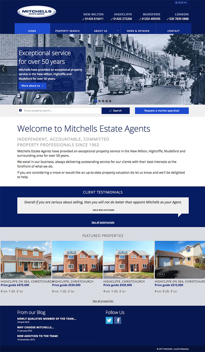 www.mitchells.uk.com Home Page