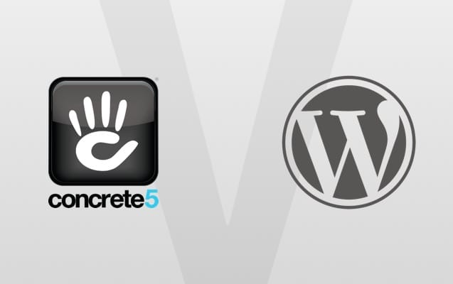 concrete5 versus WordPress