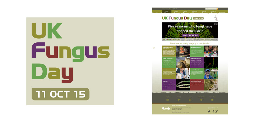 UK Fungus Day Website